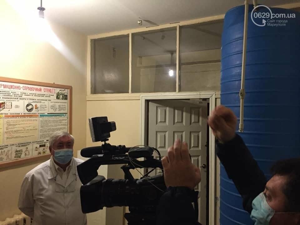 Мариуполец пожаловался на отсутствие питьевой воды в ковидной больнице, фото-2