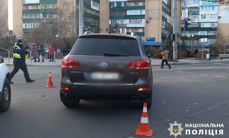 В Мариуполе  Voklkswagen на пр. Лунина сбил подростка,- ФОТО, фото-2