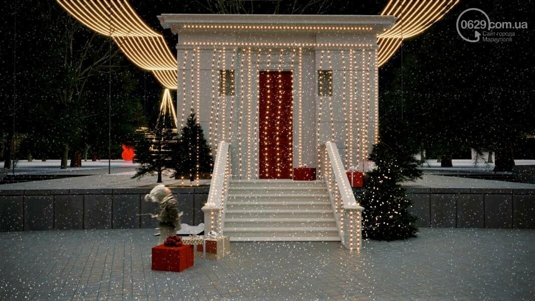 Каким будет Театральный сквер на новогодние праздники,- ФОТО, фото-6