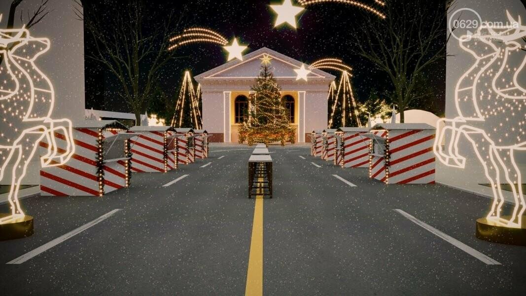 Каким будет Театральный сквер на новогодние праздники,- ФОТО, фото-1
