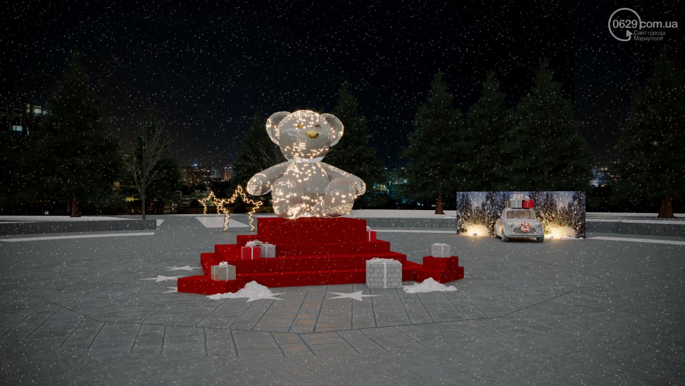 Каким будет Театральный сквер на новогодние праздники,- ФОТО, фото-5