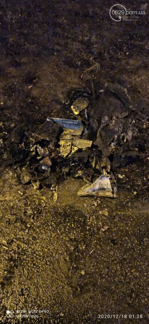 В центре Мариуполя горело и взрывалось авто, - ВИДЕО, ФОТО, фото-1