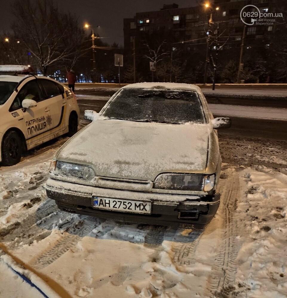 В Мариуполе на заснеженной дороге сбили женщину, - ФОТО, фото-2