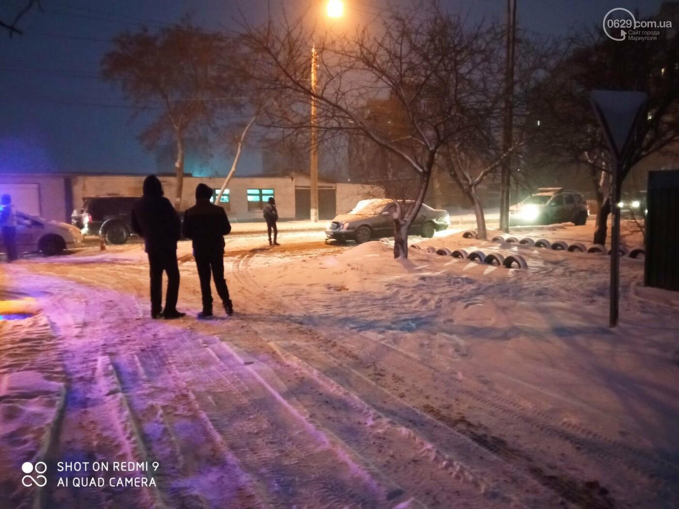 Снегопад. В Мариуполе резко увеличилось число аварий,- ФОТО, фото-9