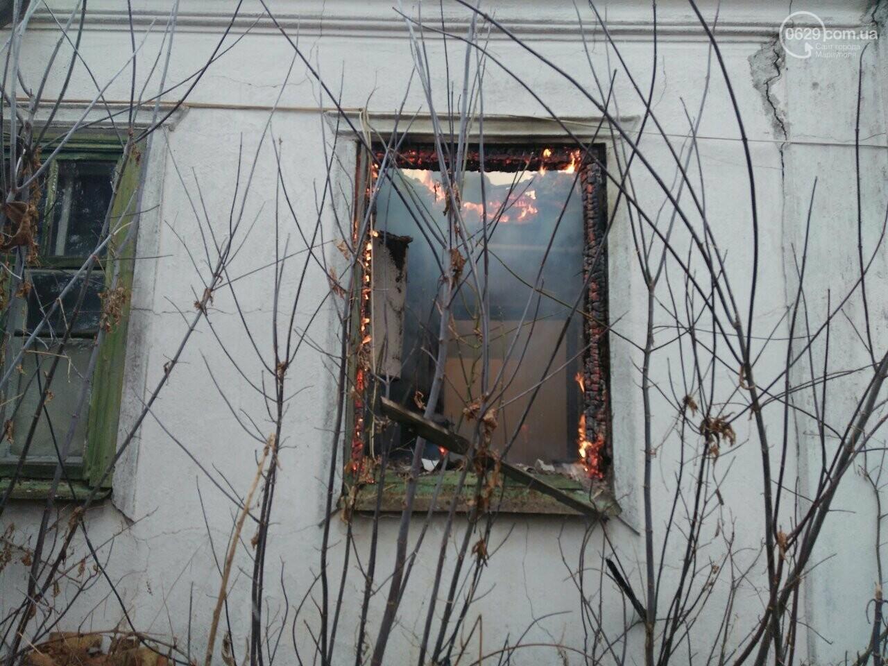 В прифронтовом Гранитном из огня спасли пенсионера, - ФОТО, фото-2