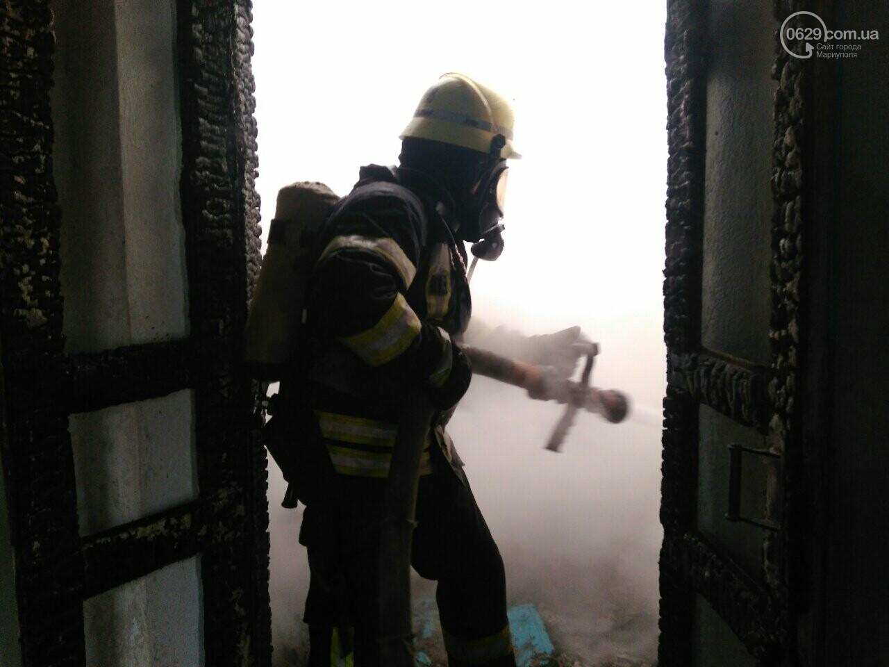 В прифронтовом Гранитном из огня спасли пенсионера, - ФОТО, фото-1