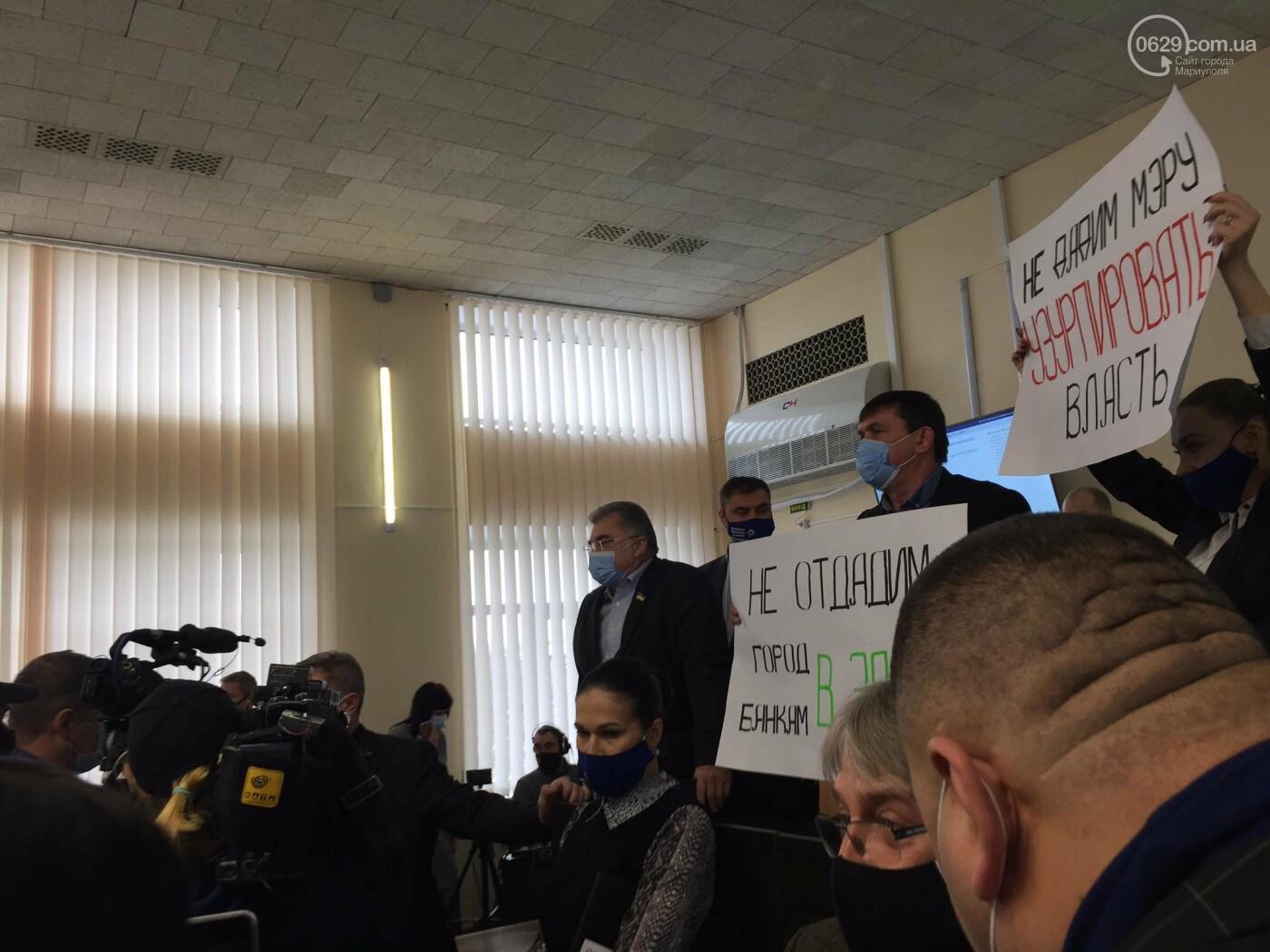 Драка в сессионном зале Мариуполя. Бойченко призвал правоохранителей и объявил перерыв, - СТРИМ, ФОТО, фото-5