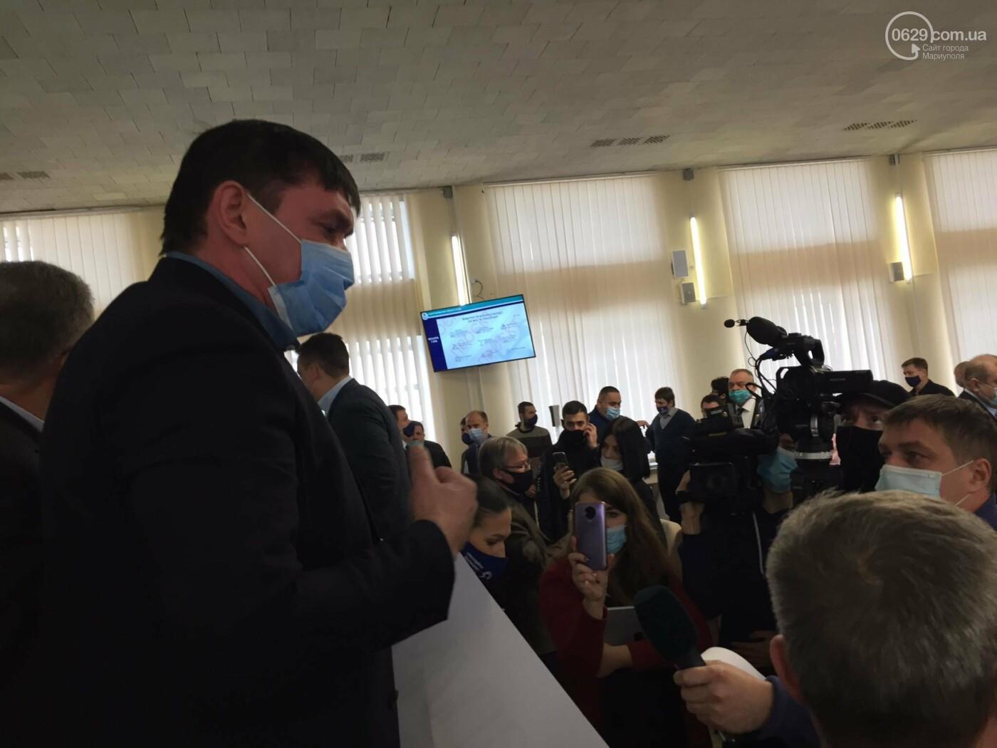 Драка в сессионном зале Мариуполя. Бойченко призвал правоохранителей и объявил перерыв, - СТРИМ, ФОТО, фото-10