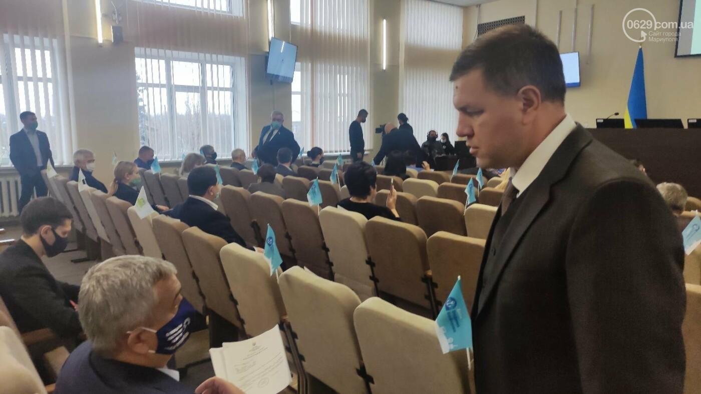 Скандал на сессии Мариупольского горсовета. ОПЗЖ выдавливает Блок Вадима Бойченко с насиженных мест, фото-1