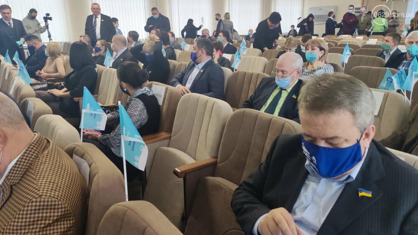 Скандал на сессии Мариупольского горсовета. ОПЗЖ выдавливает Блок Вадима Бойченко с насиженных мест, фото-5