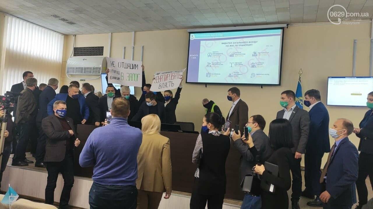 Драка в сессионном зале Мариуполя. Бойченко призвал правоохранителей и объявил перерыв, - СТРИМ, ФОТО, фото-15
