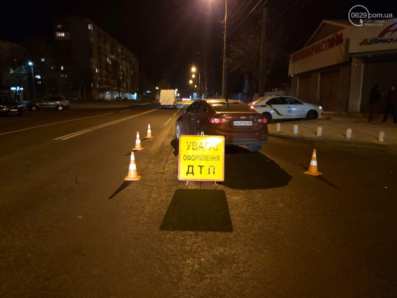 Полиция ищет свидетелей смертельного ДТП в Мариуполе, - ФОТО, фото-3