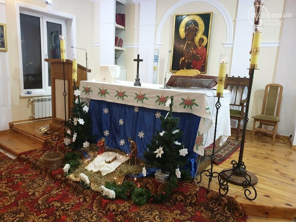 Мариупольские католики  празднуют Сочельник - ночь перед Рождеством, - ФОТО, фото-2