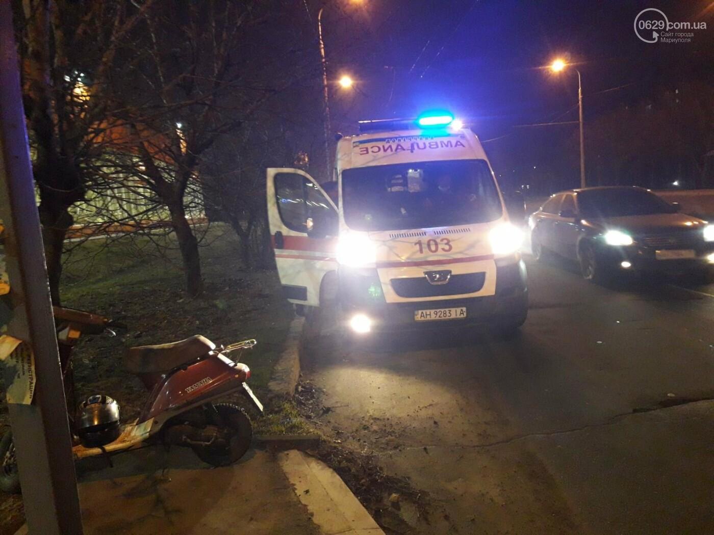 """В Мариуполе на пешеходном переходе """"ВАЗ"""" сбил женщину, - ФОТО, фото-1"""