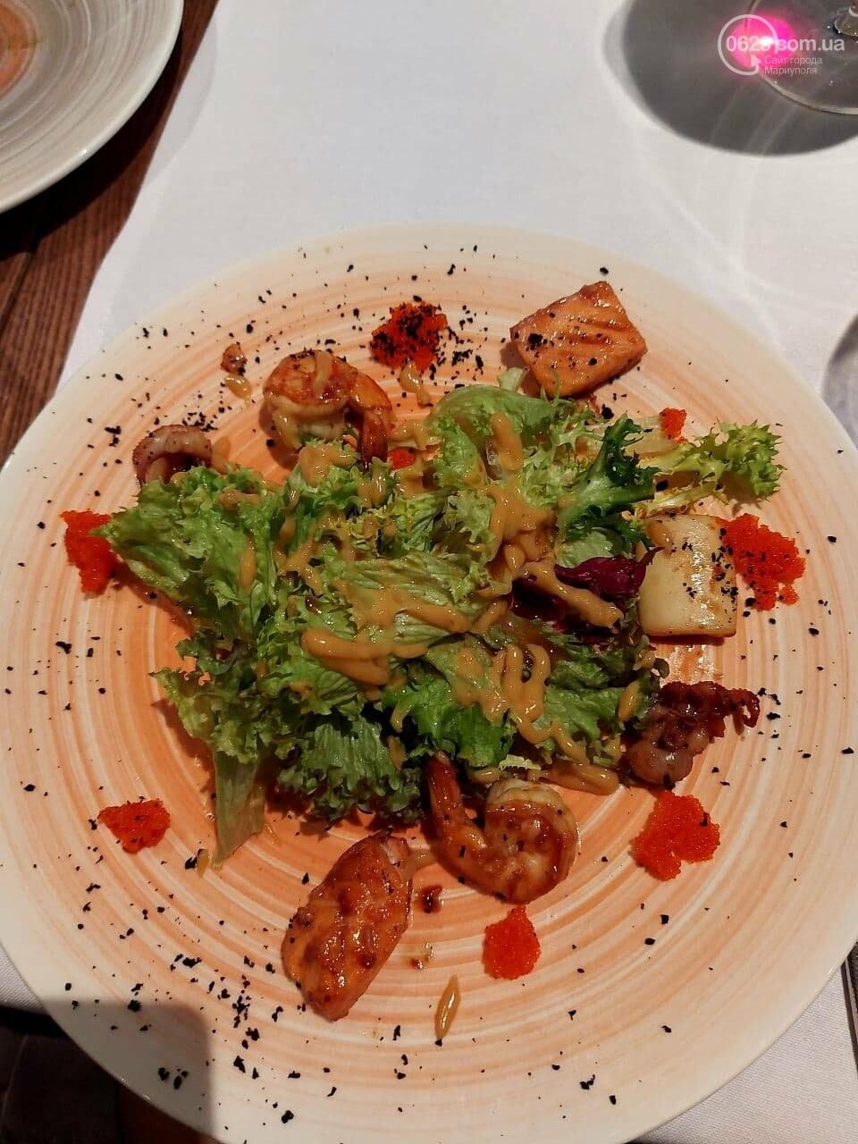 """Ревизия нового ресторана в Мариуполе.  """"Amadeus"""" претендует на заведение гастрономических впечатлений, - ФОТО, фото-1"""
