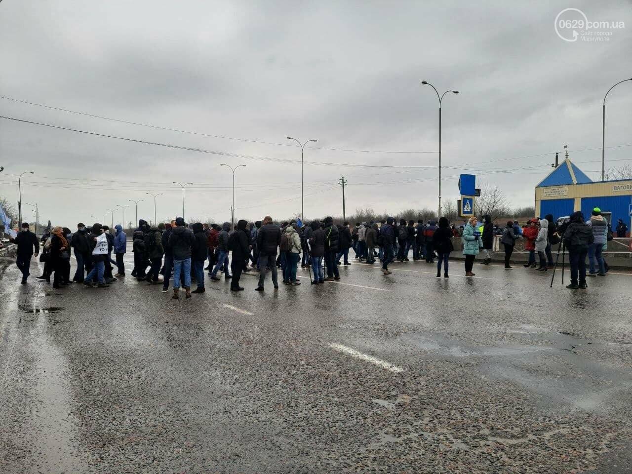 200 тысяч человек могут остаться без работы. В Мариуполе митингуют моряки, - ФОТОРЕПОРТАЖ, фото-4