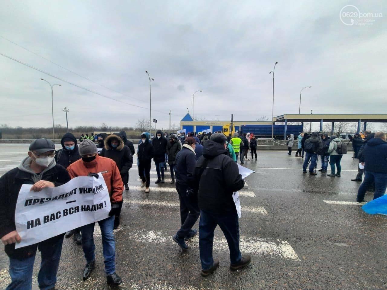 200 тысяч человек могут остаться без работы. В Мариуполе митингуют моряки, - ФОТОРЕПОРТАЖ, фото-5