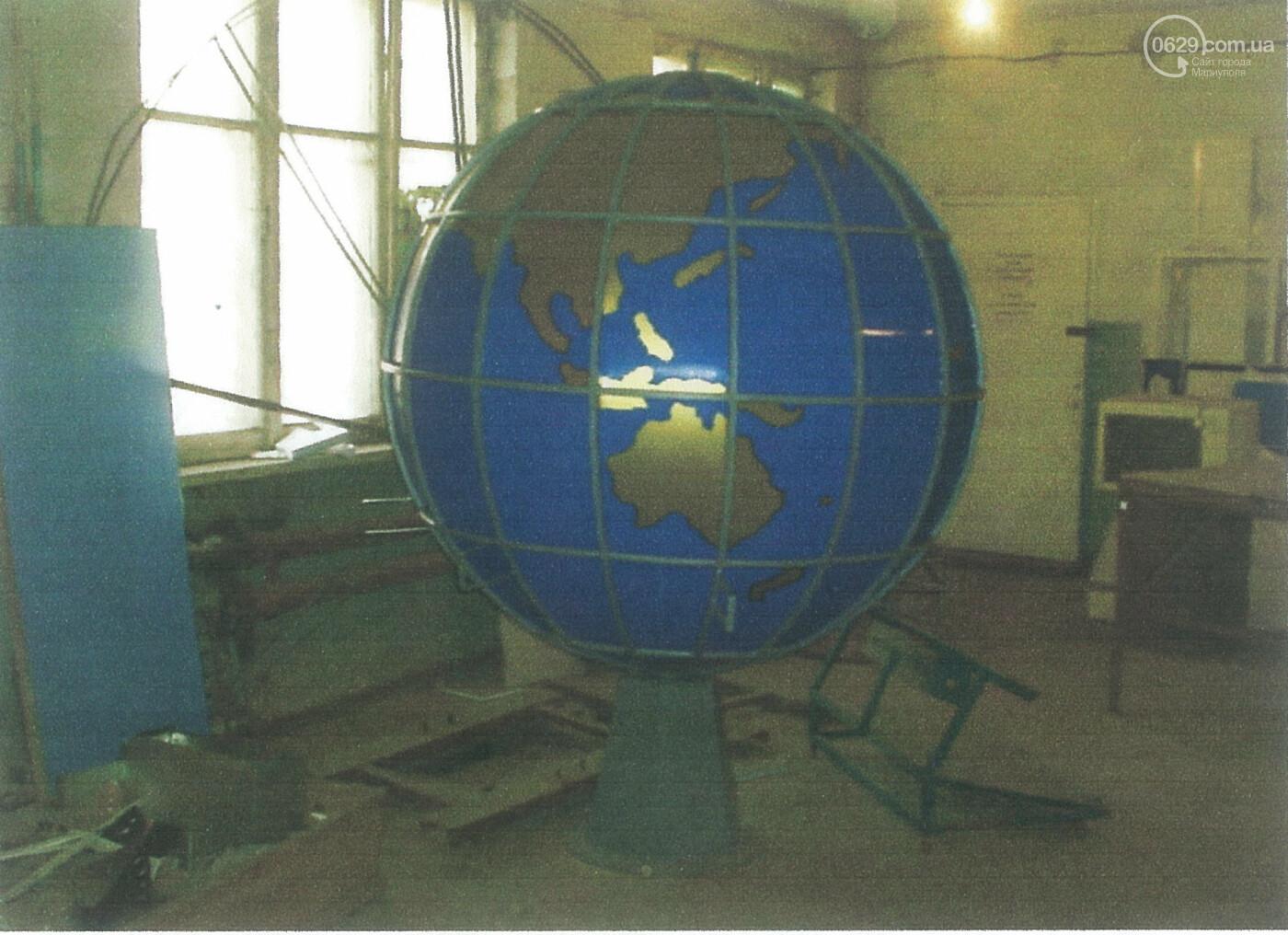 Изготовить или разориться. Как на Левобережье появился уникальный глобус с рельсом, - ФОТО , фото-4