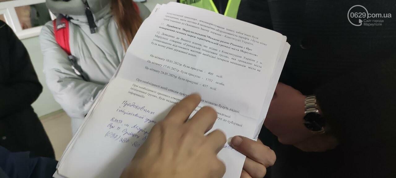 Тарифный митинг. Активистов не пустили на сессию Мариупольского горсовета, - ФОТОРЕПОРТАЖ, ВИДЕО, фото-8