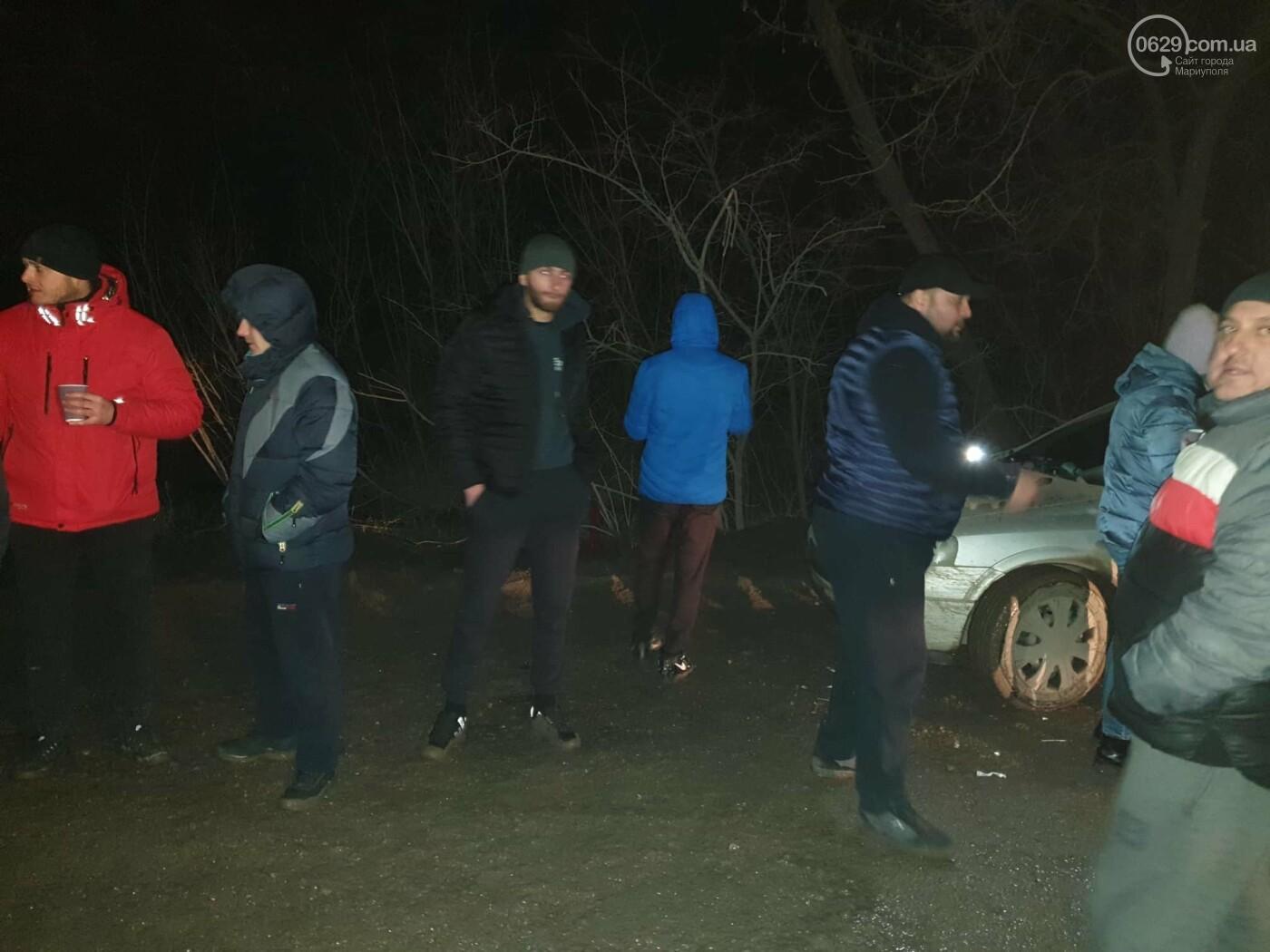 """ДТП спровоцировало социальный взрыв в Сартане. Люди протестуют против шлаковозов """"Азовстали"""", - ФОТО, фото-3"""