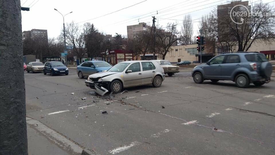 В Мариуполе произошло сразу две аварии на проспекте Металлургов, - ФОТО, фото-1
