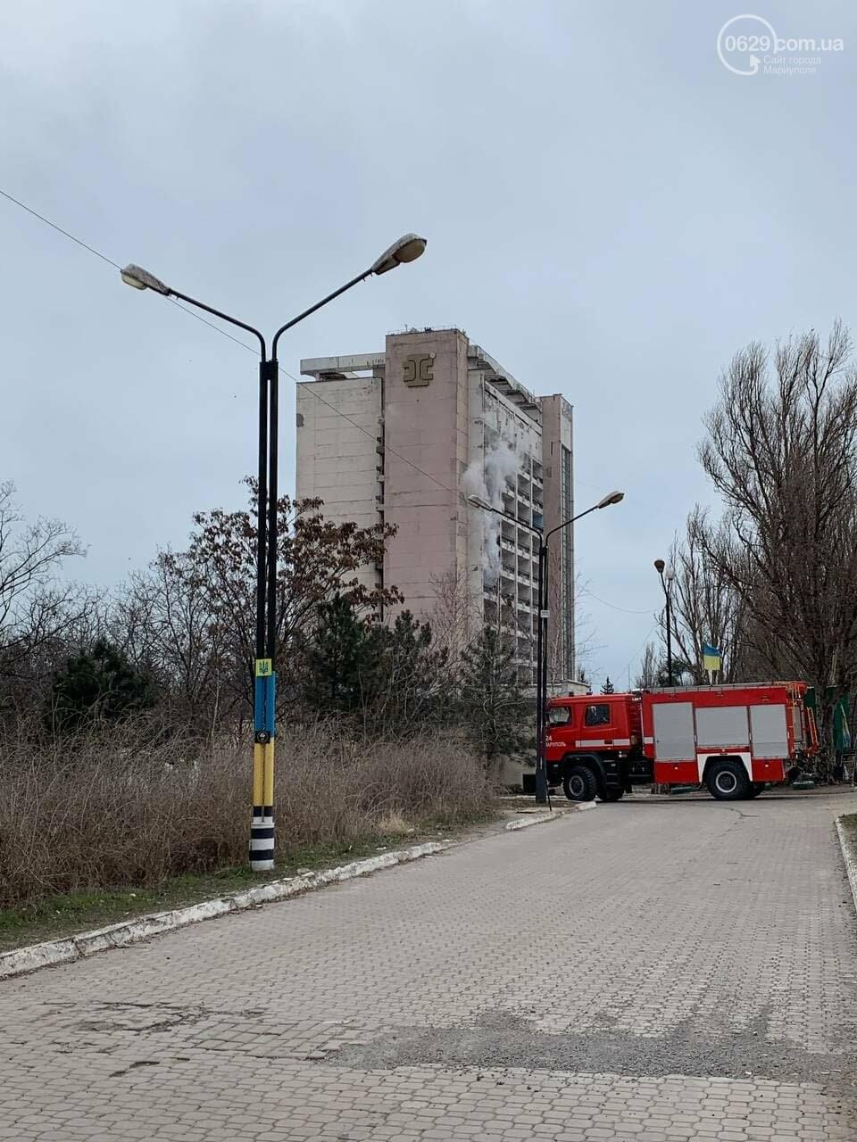 """У Маріуполі горить профілакторій """"Здоров'я"""", - ФОТО, фото-5"""