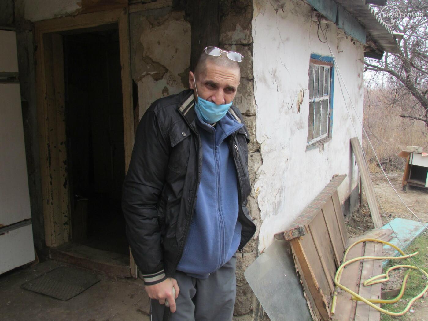 """""""Как выжить?"""" Больной туберкулезом мариуполец живет в разваливающемся доме, - ФОТО , фото-3"""