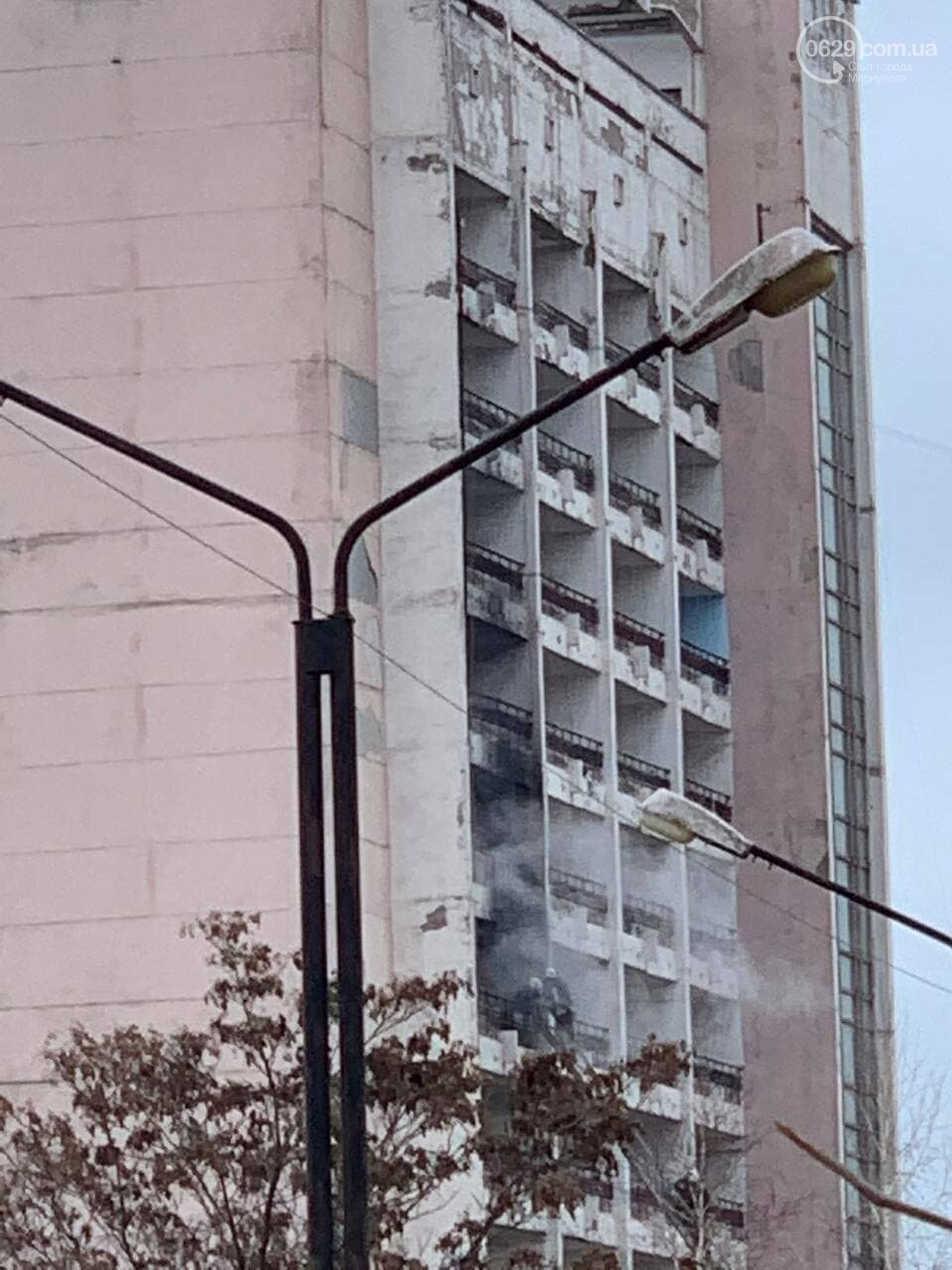 """У Маріуполі горить профілакторій """"Здоров'я"""", - ФОТО, фото-2"""