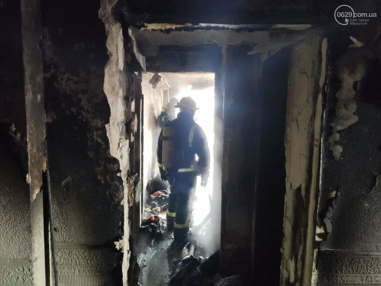 """У Маріуполі горить профілакторій """"Здоров'я"""", - ФОТО, фото-9"""