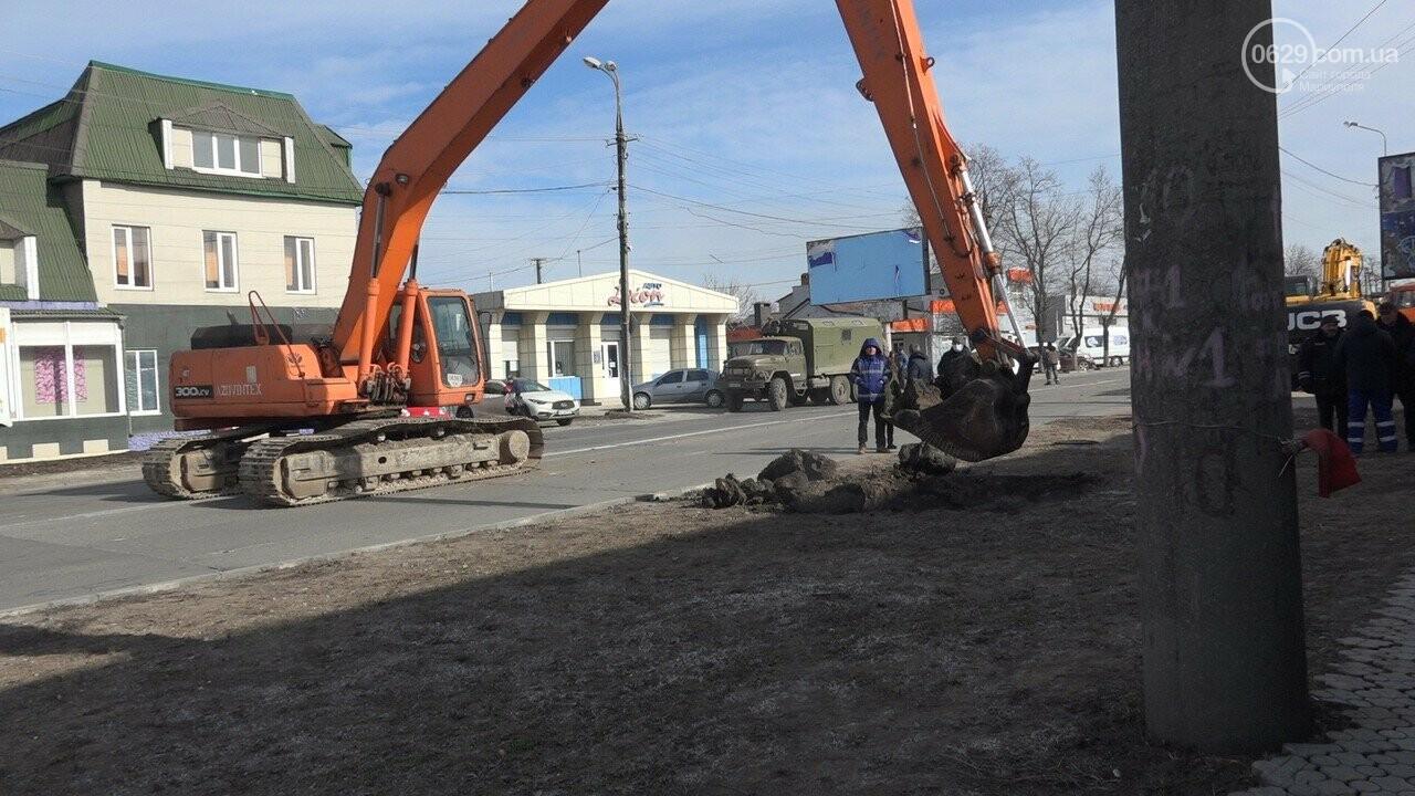 Регулярно раз в год. В Мариуполе на Митрополитской снова масштабная авария на канализационном коллекторе, фото-19
