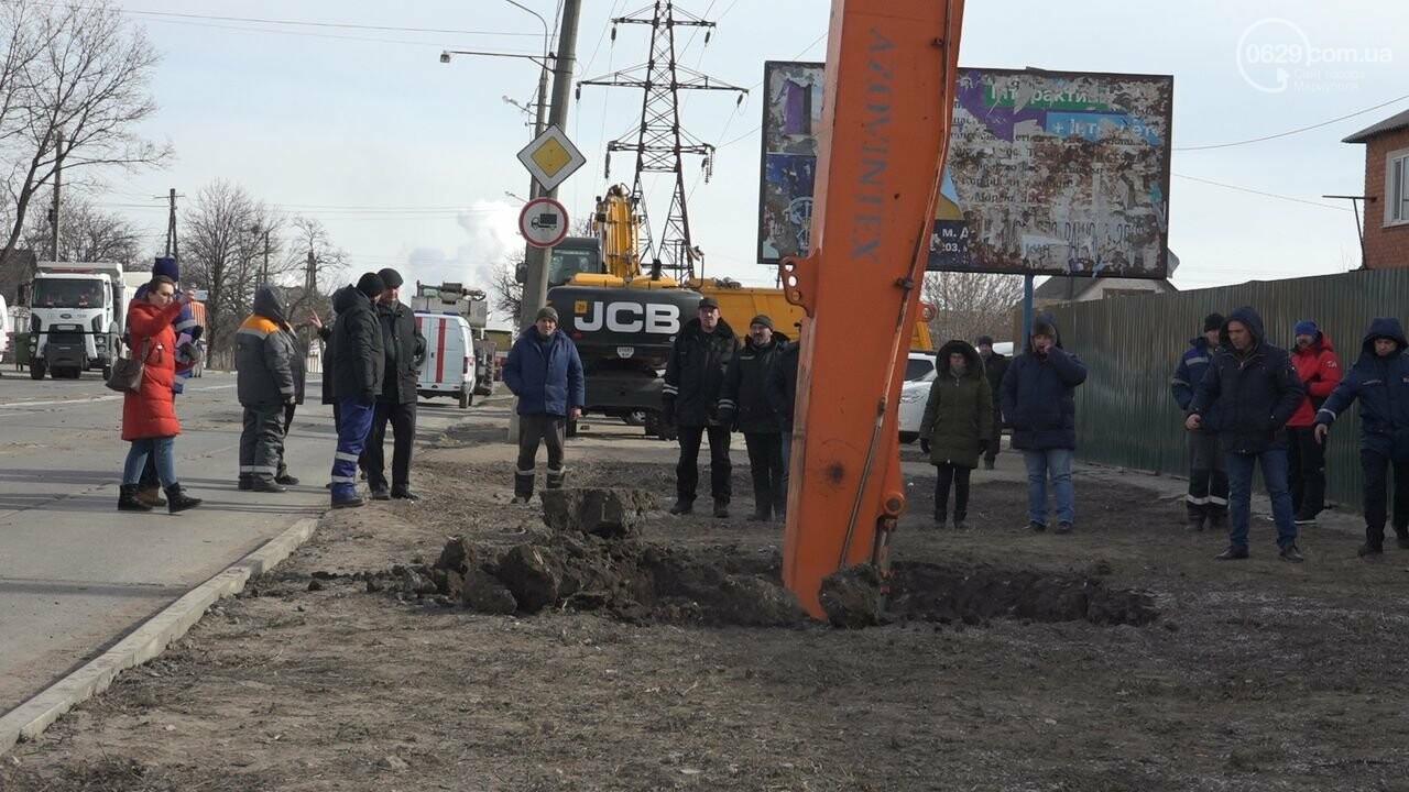 Регулярно раз в год. В Мариуполе на Митрополитской снова масштабная авария на канализационном коллекторе, фото-23
