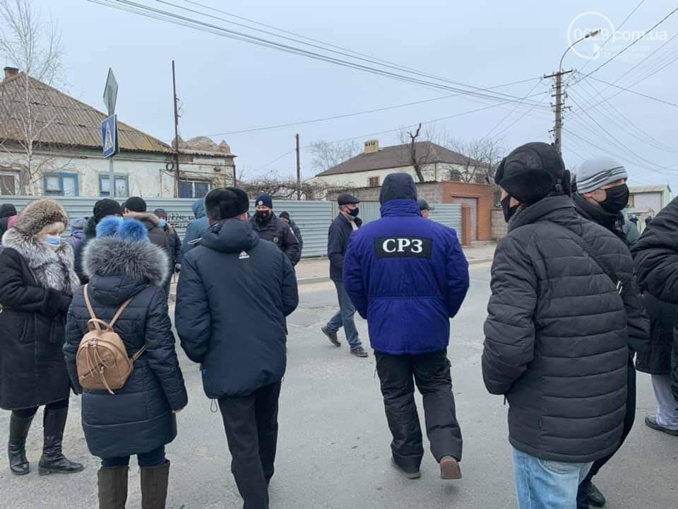 В Мариуполе сотрудники судоремонтного завода перекрыли дорогу,- ФОТО, ВИДЕО, фото-3