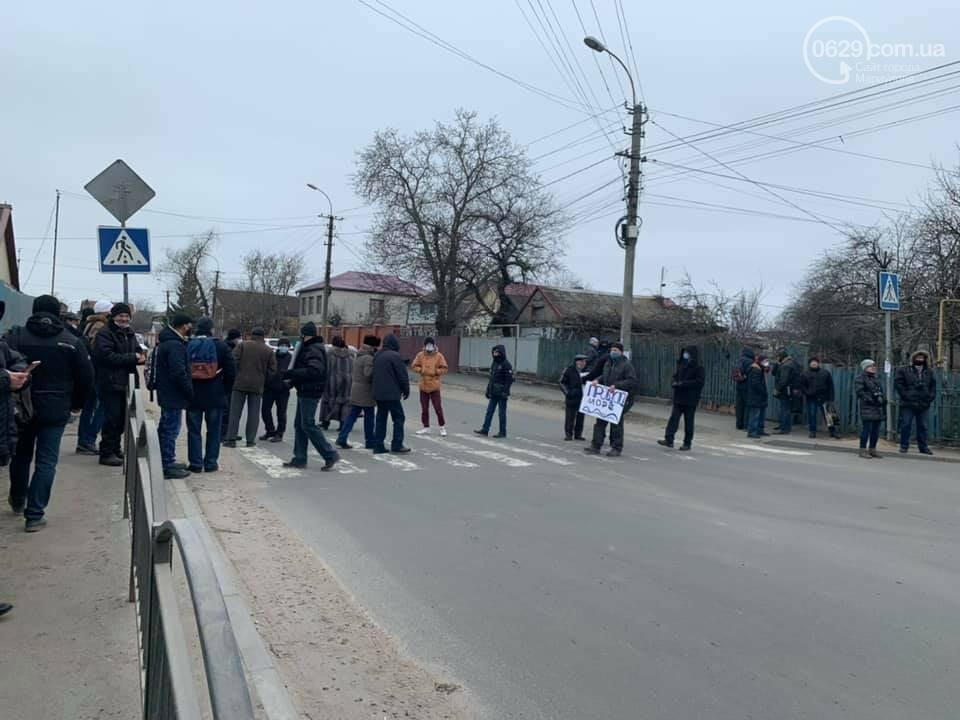 В Мариуполе сотрудники судоремонтного завода перекрыли дорогу,- ФОТО, ВИДЕО, фото-4