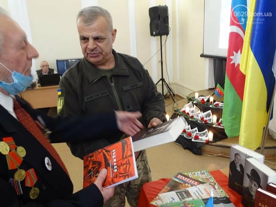В Мариуполе азербайджанская община почтила память жертв Ходжалинской трагедии, - ФОТО, фото-5