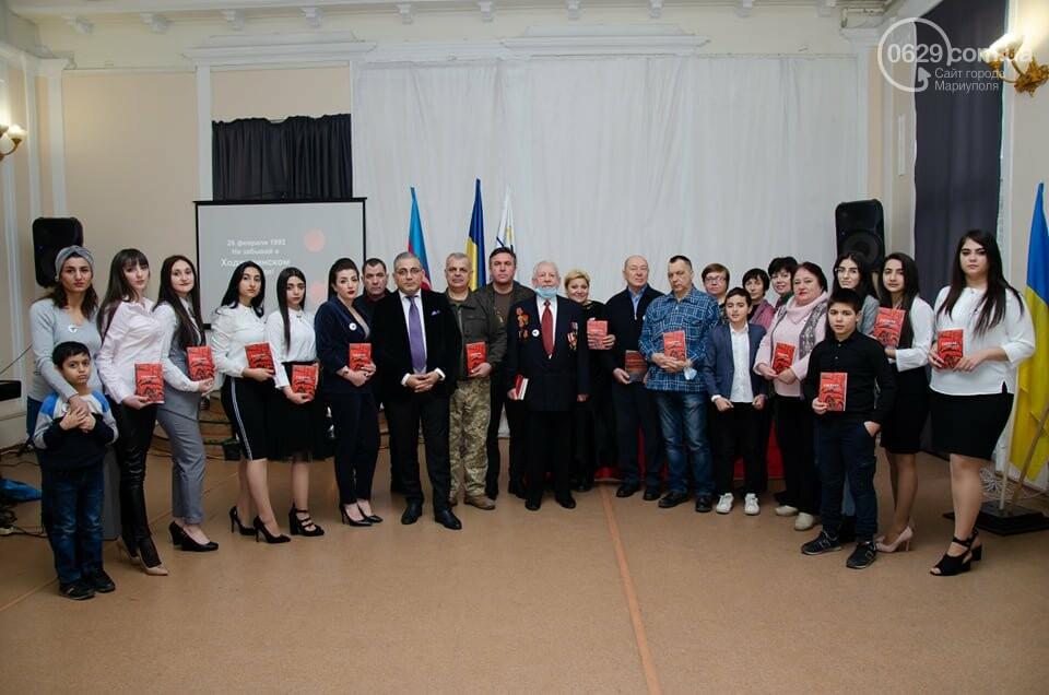 В Мариуполе азербайджанская община почтила память жертв Ходжалинской трагедии, - ФОТО, фото-14