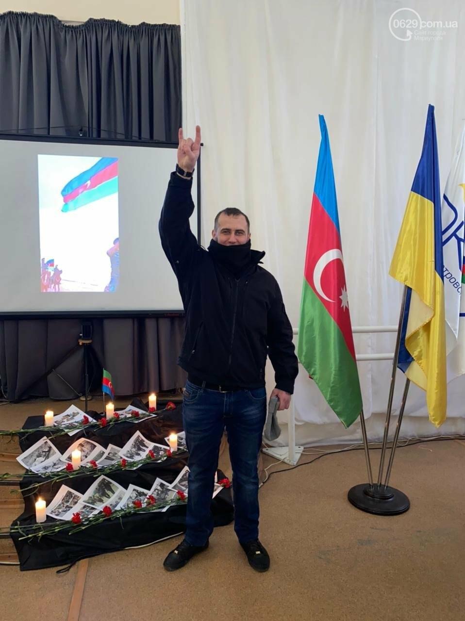 В Мариуполе азербайджанская община почтила память жертв Ходжалинской трагедии, - ФОТО, фото-11