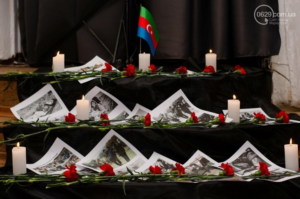 В Мариуполе азербайджанская община почтила память жертв Ходжалинской трагедии, - ФОТО, фото-17