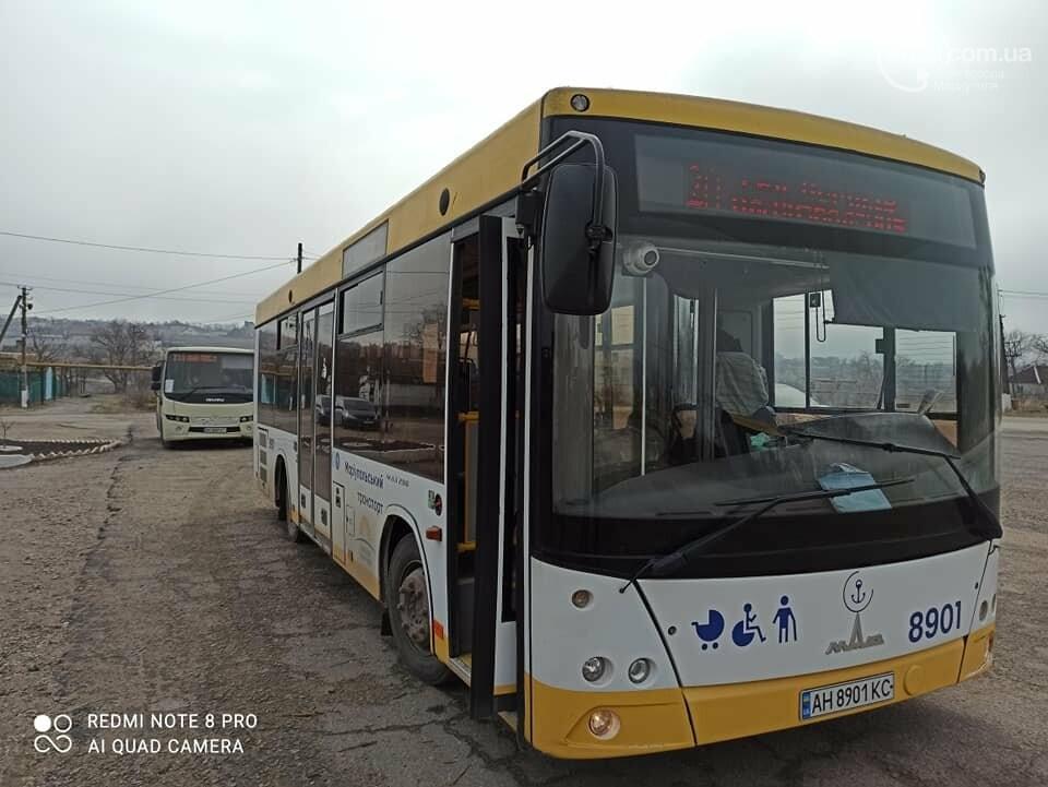 В Мариуполе маршрут коммунального автобуса продлили до отдаленного села, - ФОТО, фото-2