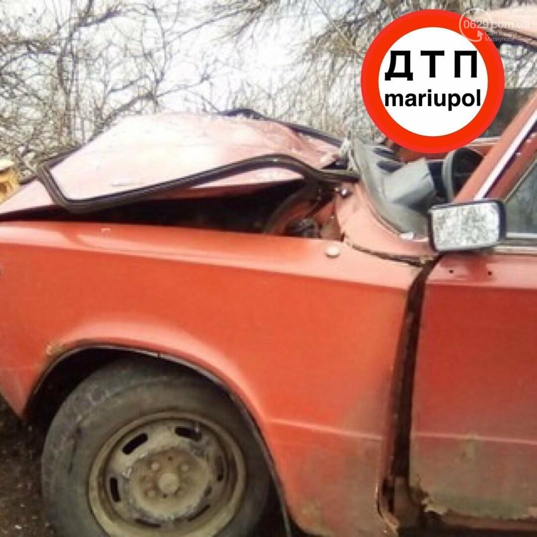Смертельное ДТП под Мариуполем. Мужчина погиб, ребенок - травмирован, - ФОТО, фото-2