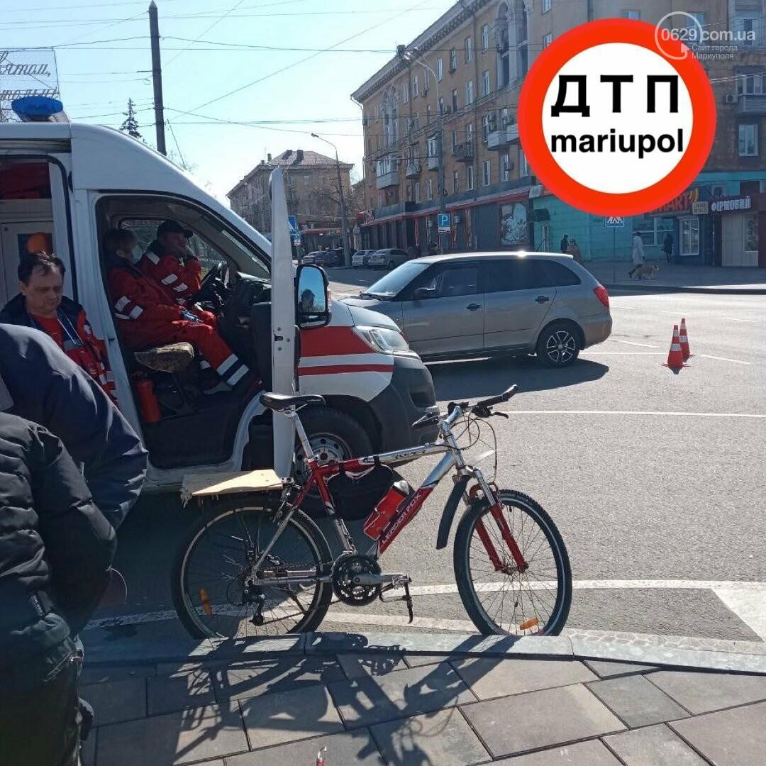 В Мариуполе автомобиль сбил велосипедиста, - ФОТО, фото-1