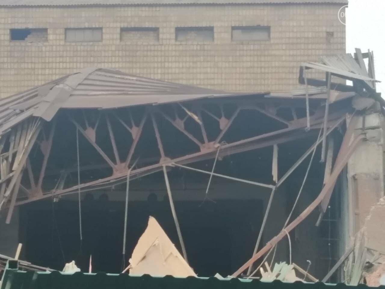 Летний театр в Городском саду – разрушен. Метинвест поспешил разделаться со зданием, - ФОТО, ВИДЕО, фото-6