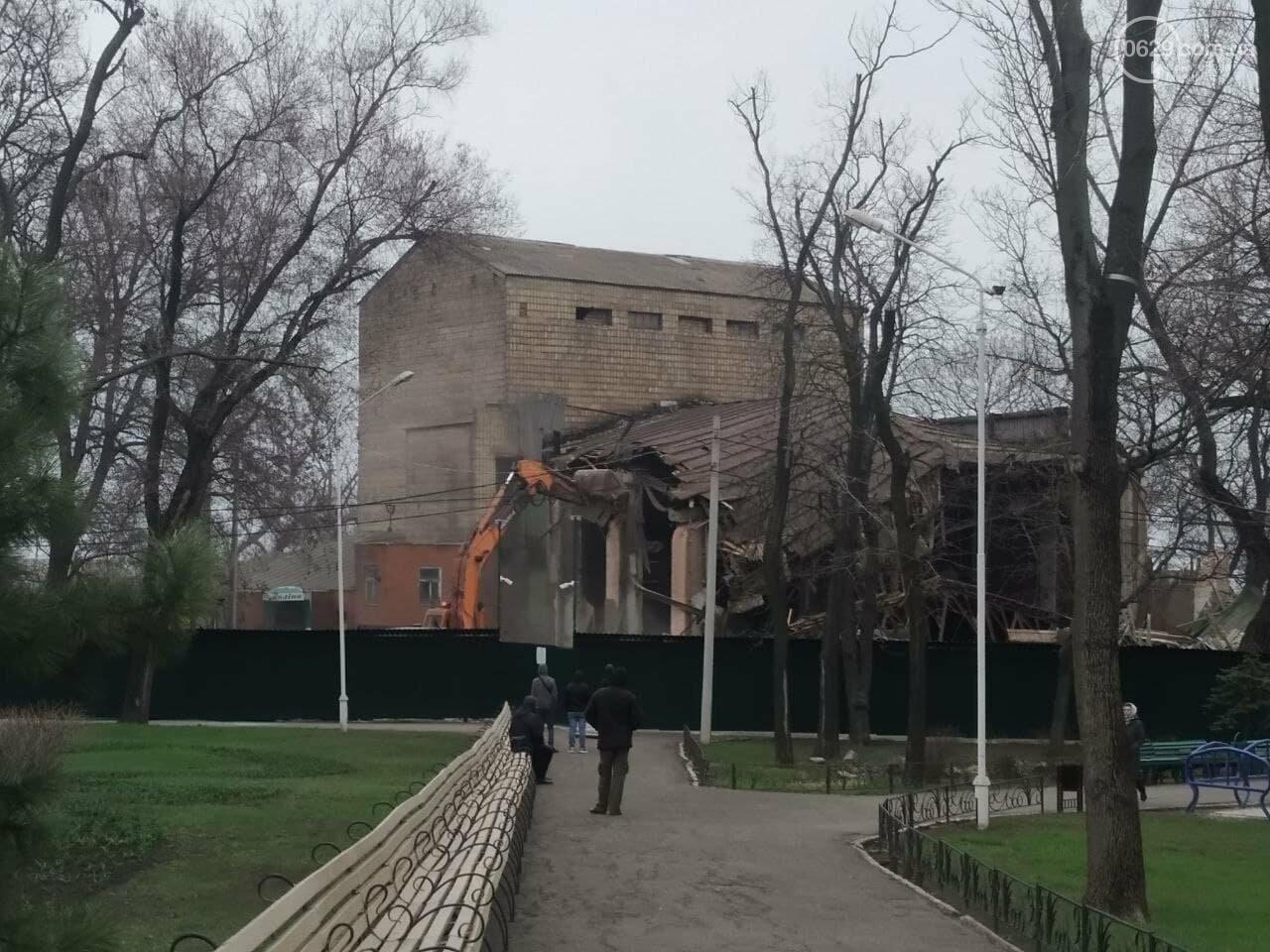Летний театр в Городском саду – разрушен. Метинвест поспешил разделаться со зданием, - ФОТО, ВИДЕО, фото-7