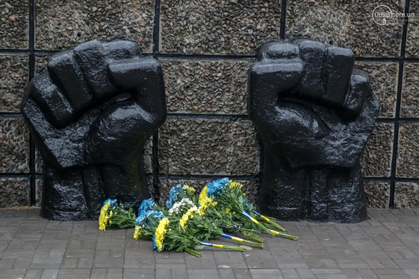 «Выкупили за 3 рейхсмарки». В Мариуполе возложили цветы в память об узниках фашистских концлагерей, - ФОТО, фото-13