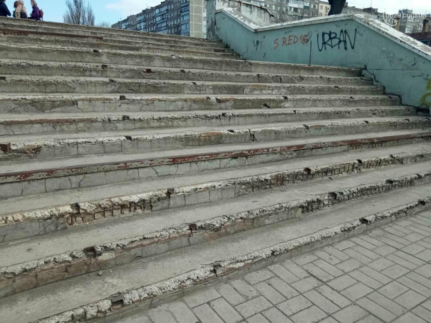 Глобальная реконструкция. В Мариуполе ремонтируют спуск к морю, - ФОТОРЕПОРТАЖ, фото-6