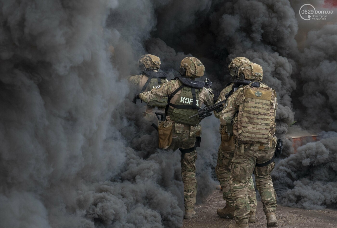 """Враг понесет потери"". Как в Мариуполе силовики учились уничтожать врага на суше и на море, - ФОТО+ВИДЕО, фото-8"