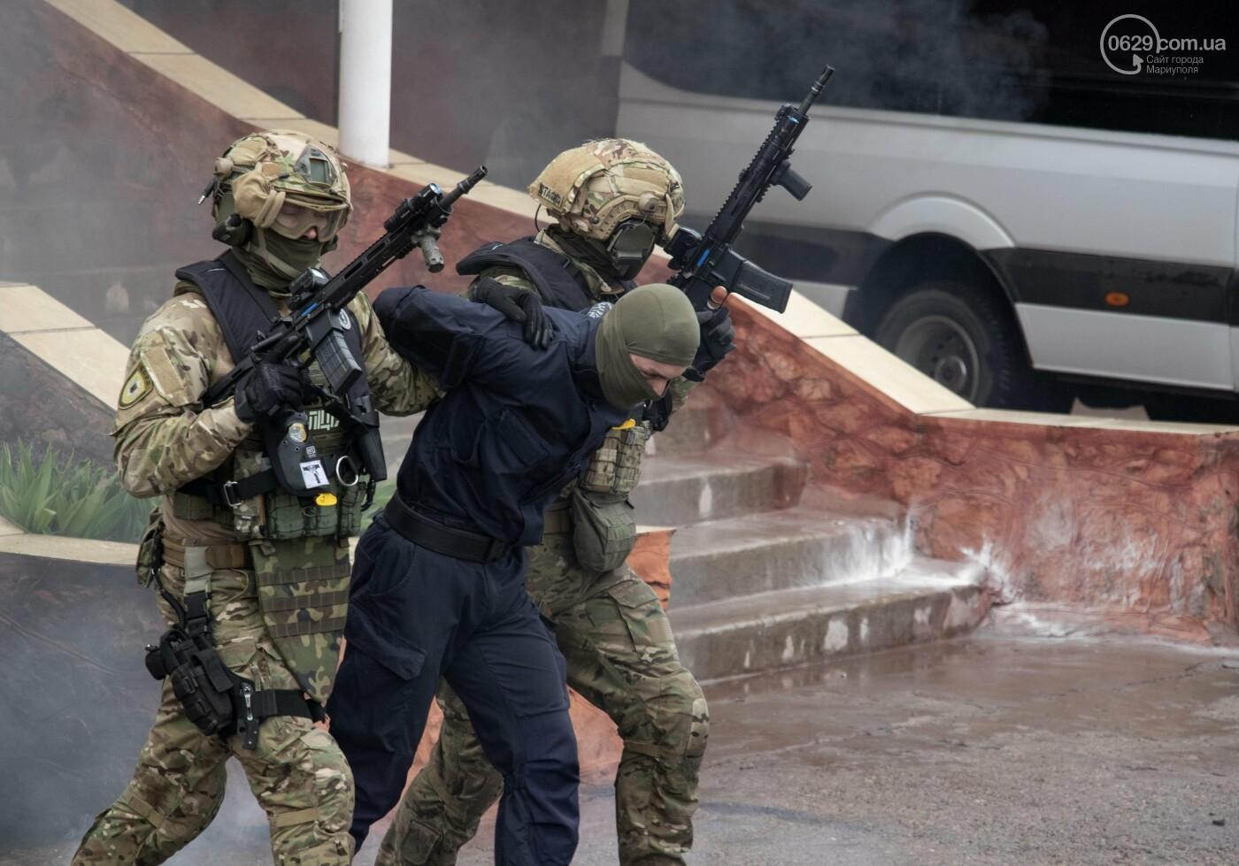 """Враг понесет потери"". Как в Мариуполе силовики учились уничтожать врага на суше и на море, - ФОТО+ВИДЕО, фото-10"