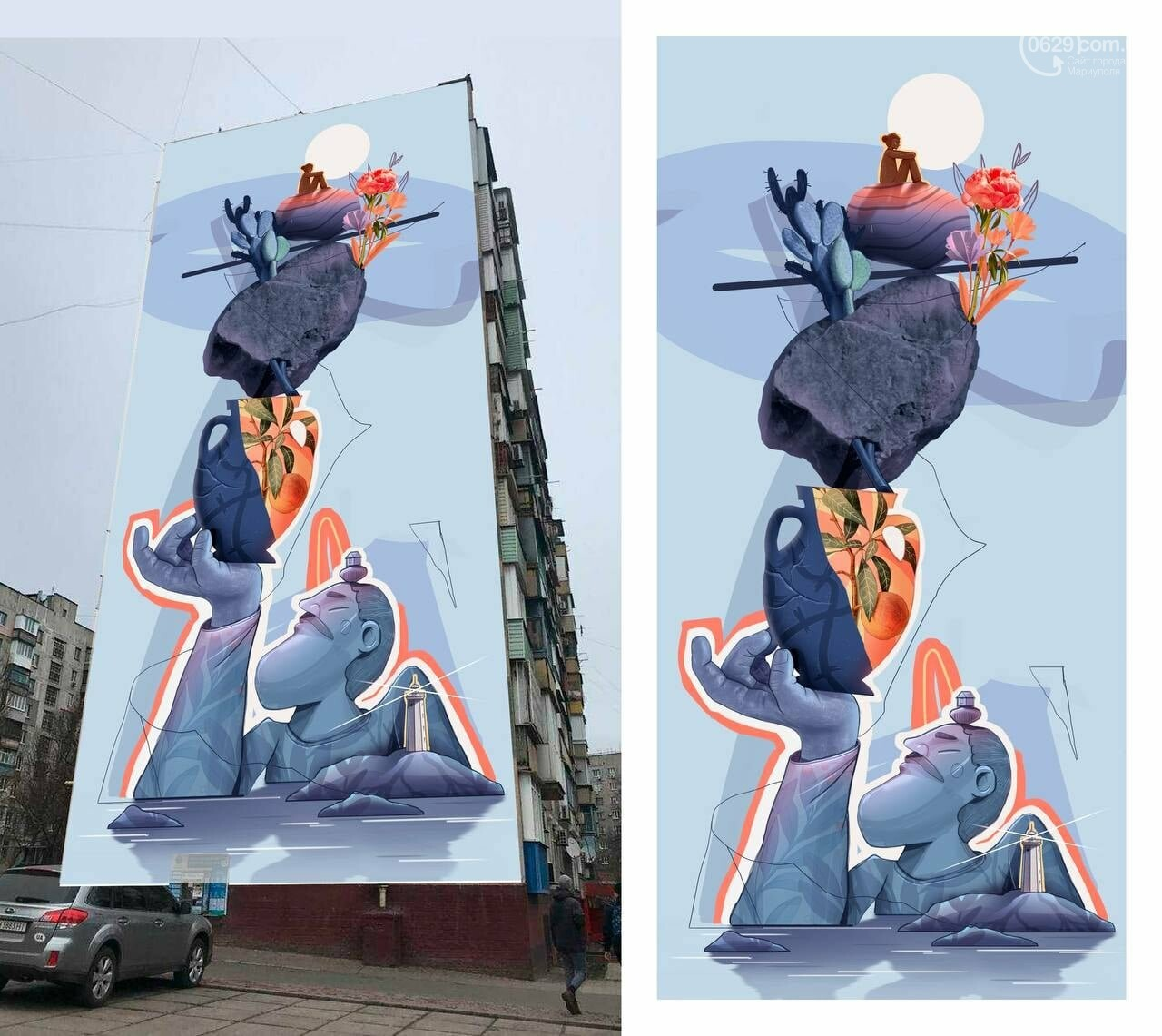 В Мариуполе ищут место для нового мурала,- ФОТО, фото-1