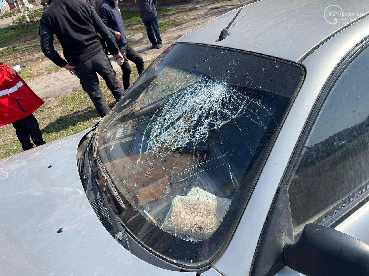 В Мариуполе таксист на Daewoo  влетел в столб, - ФОТО, фото-1