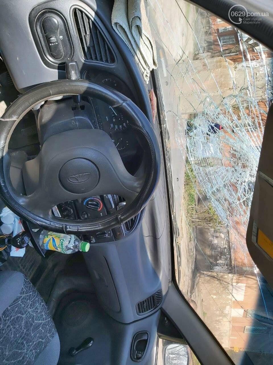 В Мариуполе таксист на Daewoo  влетел в столб, - ФОТО, фото-3