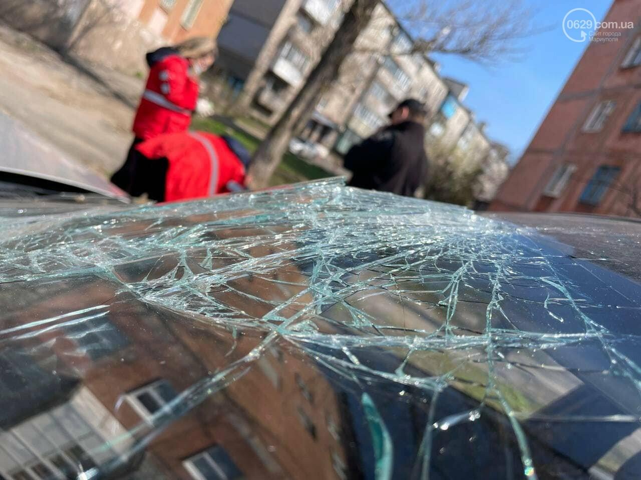 В Мариуполе таксист на Daewoo  влетел в столб, - ФОТО, фото-6